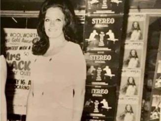 Eden's grandmother Margaret Duckworth won Mrs Blackpool 1971. Pic: Eden Kippax