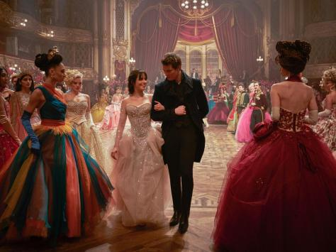 Blackpool Tower Ballroom takes centre stage in the new live-action movie directed by Kay Cannon.