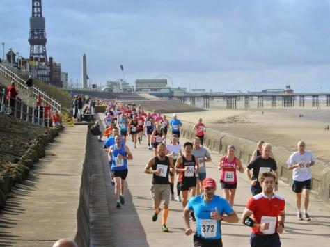 Hundreds of runners will descend on Blackpool this weekend as the resort hosts its Festival of Running, including the annual marathon, half-marathon, 10K, 5K and 2K races. Pic: Fylde Coast Runners
