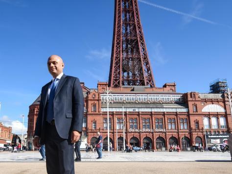 Sajid Javid in Blackpool