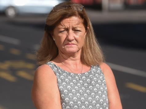 Michelle's elderly father Vincent was involved in a hit-and-run incident near Warbreck Drive on Saturday, which Michelle said would have been prevented if drivers stopped speeding in the area. Pic: Daniel Martino/JPI Media