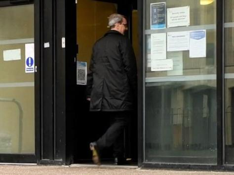 Fleetwood Town's owner and chairman Andy Pilley arrives at Blackpool Magistrates' Court on the morning of Wednesday, September 22, 2021. He is charged with fraud and money laundering offences linked to his energy firm (Picture: Kelvin Stuttard for JPIMedia)