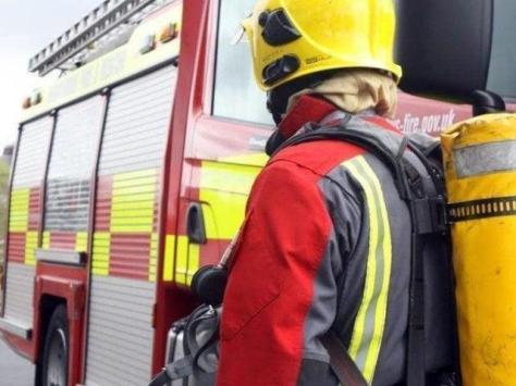 Three fire engines from Blackpool and South Shore attended the incident in Loftos Avenue.