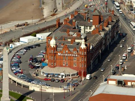 Asylum seekers have moved into the Metropole Hotel on the Promenade