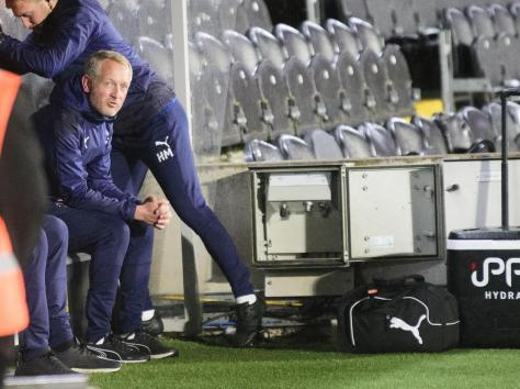 Neil Critchley will be looking to get over Tuesday night's disappointment