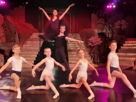 350 Year Three pupils from five schools across the resort took part in a ballet workshop with the Royal Ballet School. Pic: John Topping/FCAT