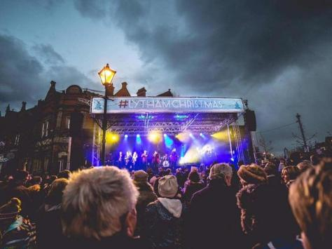 Entertainment galore at a Lytham Christmas switch-on