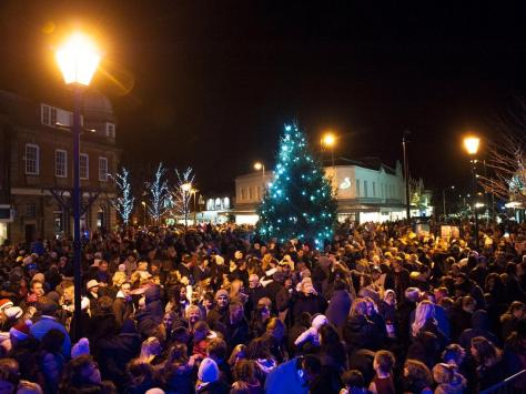 Lytham Christmas switch-ons have traditionally attracted thousands of spectators