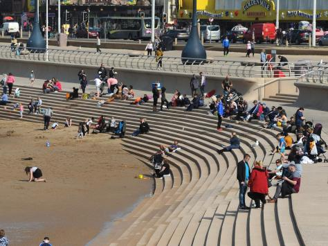 The Promenade has attracted millions of visitors