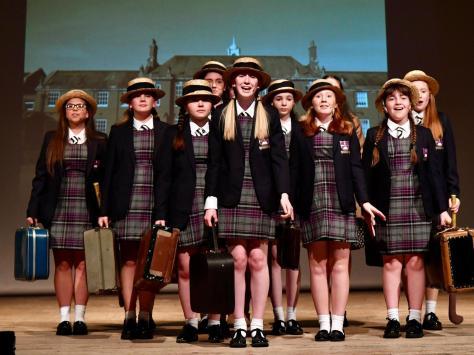 (Left to right) Phoebe Coulon, Emma Binns, Katie Pennington, Beth Cartmell, Charlotte Goodson, Phoebe Mason, Amelia Zubrzycki, Jessica Grimshaw, Alice Hurt
