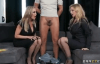 BRANDI LOVE & JULIA ANN HOT MILF THREESOME
