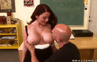 SOPHIE DEE DAYDREAMING IN THE CLASSROOM