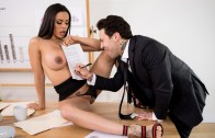 Big Tits At Work – Hot Negotiations – Luna Star