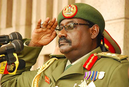 Ugandan General David Sejusa