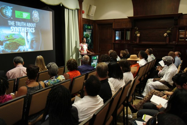 Ms. Courtney Bennett, Community Organizer, DC Prevention Center of Washington's Wards 5 & 6, speaking on synthetic drug abuse