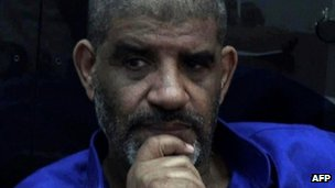 Abdullah al-Senussi is in jail awaiting trial for crimes committed in the Gaddafi era