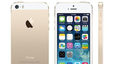 The gold colored iPhone 5S is selling well on eBay, even though its price is significantly marked up. (Apple)