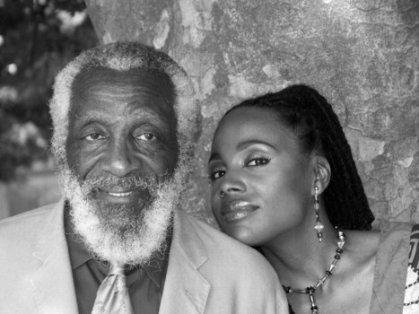 Dick Gregory and daughter Ayanna Gregory