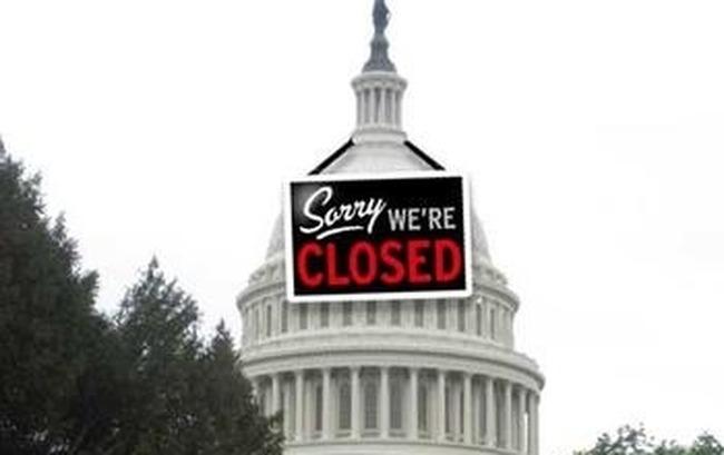 Capitol Closed Sign