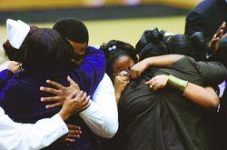 Mourning Black Family