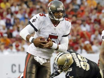 Tampa Bay QB Josh Freeman