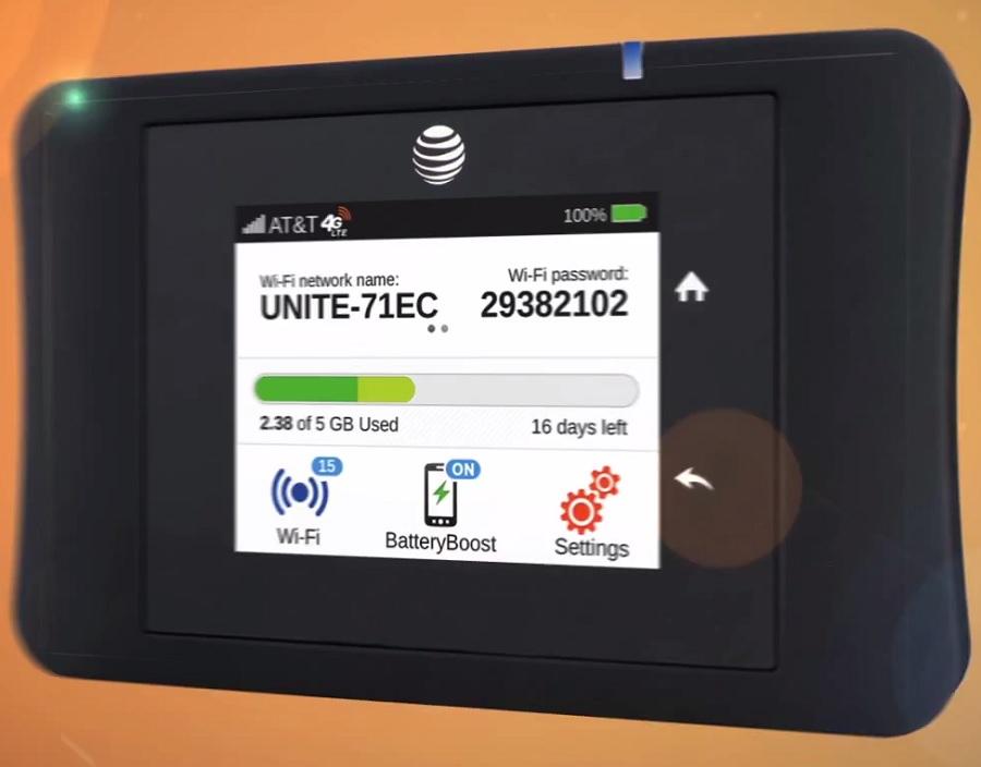 AT&T Unite Pro Hotspot