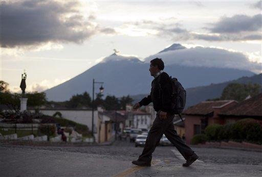 Guatemala Antigua Decline