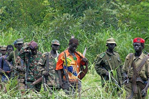 Africa Kony Hunt