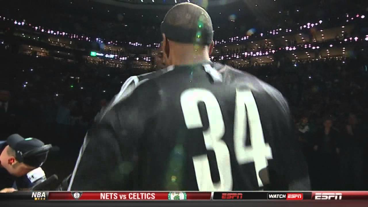 Kevin Garnett and Paul Pierce cheered in return to Boston