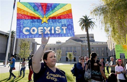 Arizona Gay Rights Protests
