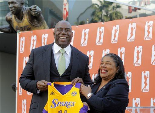 Sparks Ownership Basketball