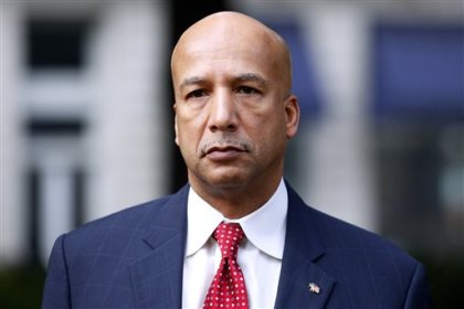 In this Jan. 27, 2014, file photo, former New Orleans Mayor Ray Nagin arrives at the Hale Boggs Federal Building in New Orleans. (AP Photo/Jonathan Bachman, File)