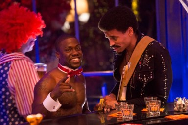 """Kevin Hart and Michael Ealy in the film """"About Last Night"""""""