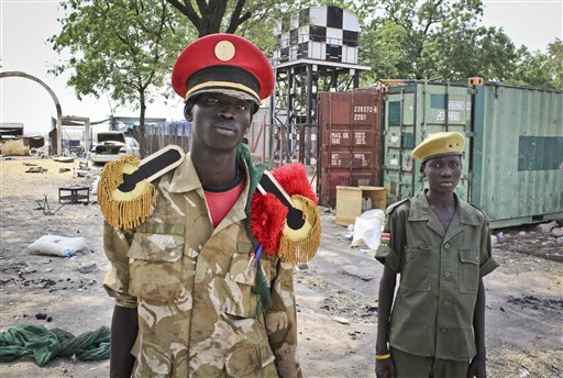 APTOPIX South Sudan Destroyed City