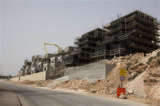 Mideast Israel West Bank Grip