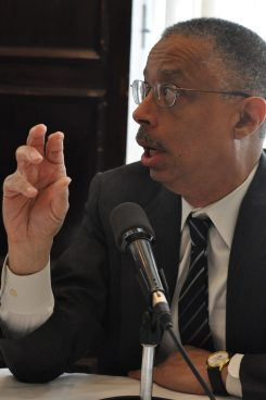 Bill Spriggs says only top 1 percent has gained in the economy. (NNPA Photo by Roy Lewis)