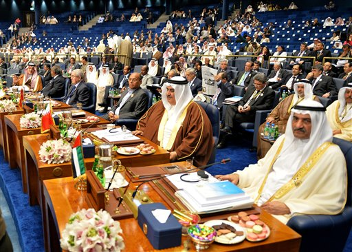 Mideast Kuwait Arab Summit