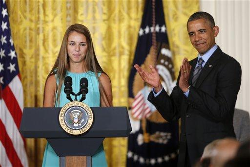 Barack Obama, Victoria Bellucci