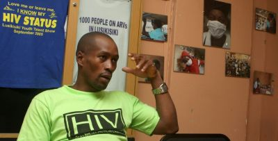 A resident of Cape Town, South Africa, recounts the struggles of living with HIV. (AP Image)