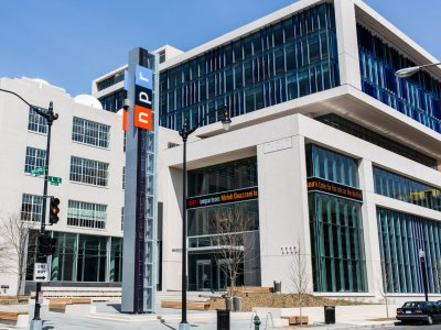 NPR headquarters in Washington, D.C. (Stephen Voss/NPR)