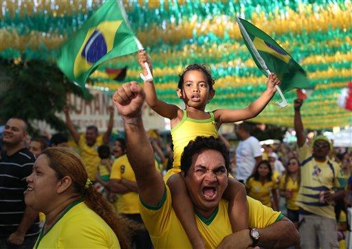 Brazil Soccer WCup Brazil Cameroon