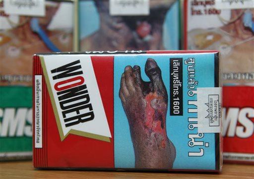 Cigarette Graphic Warnings