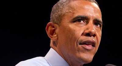 President Barack Obama speaks at the Paramount Theatre in Austin, Texas, Thursday, July 10, 2014, about the economy. (AP Photo/Jacquelyn Martin)
