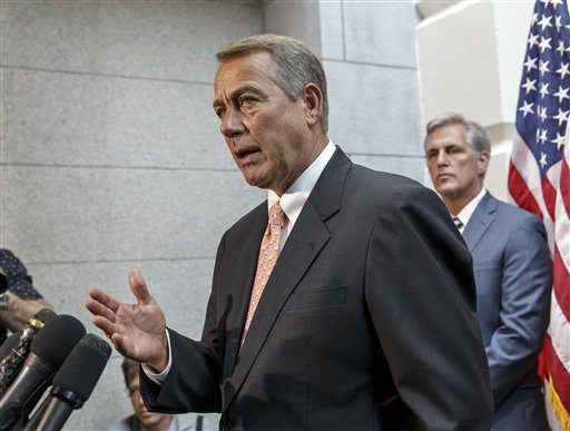 Kevin McCarthy, John Boehner