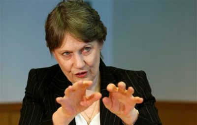 """In this Wednesday, July 23, 2014 photo, U.N. Development Program Administrator Helen Clark of New Zealand speaks during an interview in Tokyo. Improvements in life spans, education and incomes are slowing due to natural disasters, misguided government policies and worsening inequality in a world where the 85 richest people have as much wealth as the 3.5 billion poorest people, the United Nations said Thursday, July 24, 2014 in its annual human development report. """"Where people do address these things, development can come along very, very nicely. Where they haven't addressed a lot of vulnerabilities and development deficits, as in Syria, it all comes spectacularly unstuck,"""" Clark said. (AP Photo/Shizuo Kambayashi)"""