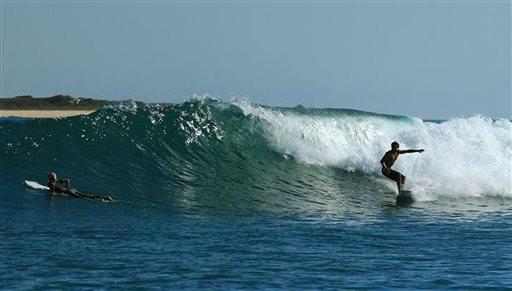 Madagascar Surf's Up