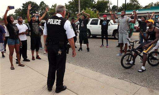 APTOPIX Police Shooting-Missouri