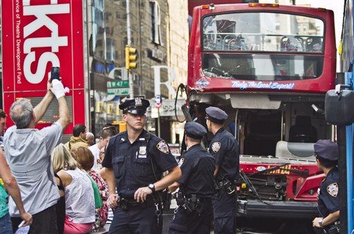 Manhattan Bus Accident