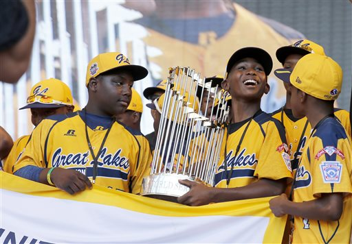 LLWS Chicago Champions Parade Baseball