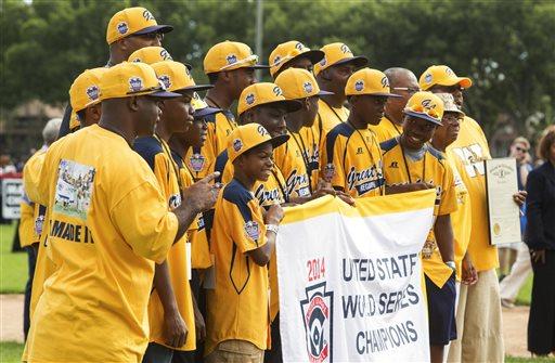 LLWS Chicago Champions Parade Baseball